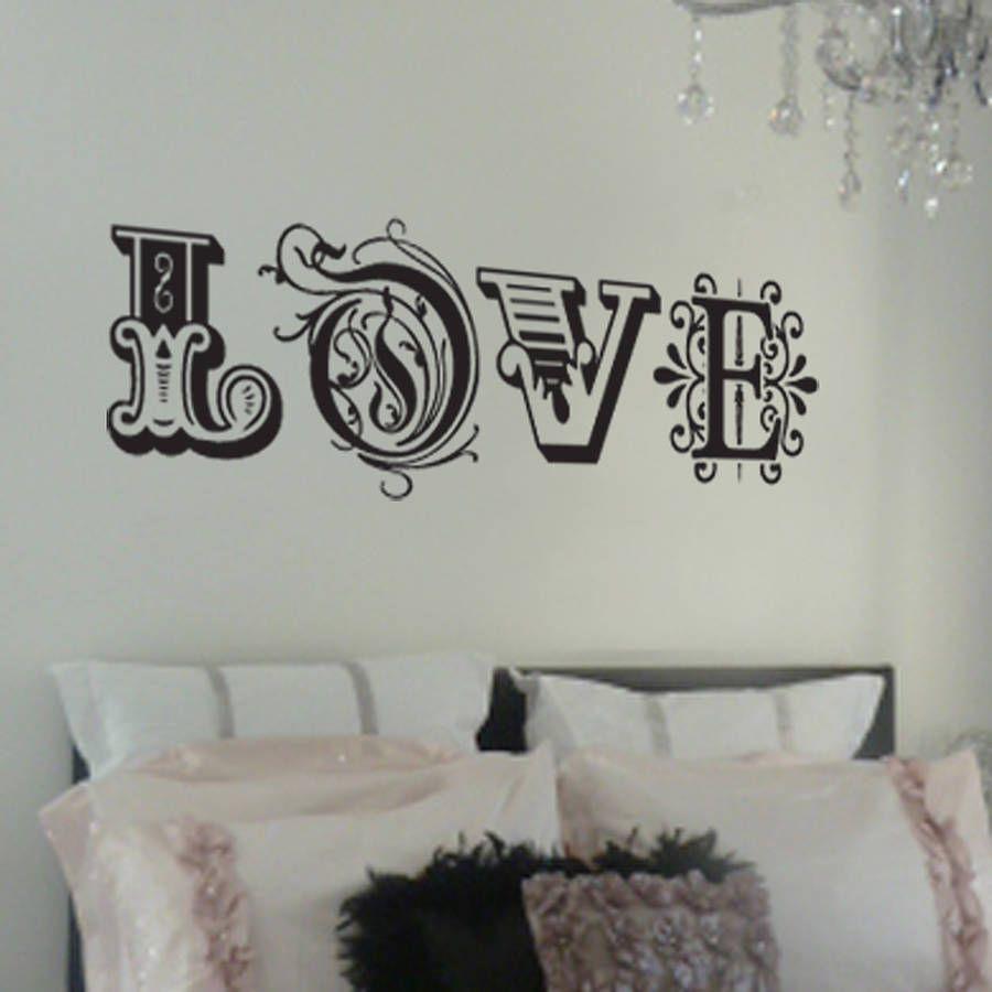 love wall art for bedroom