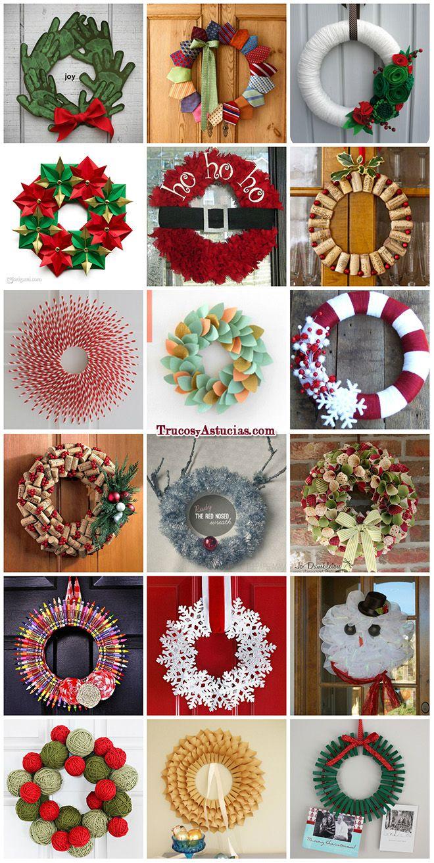 136 manualidades y adornos para Navidad Trucos Caseros y Astucias