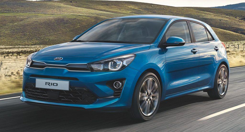 2021 Kia Rio Facelift Brings Subtle Styling Tweaks, Big