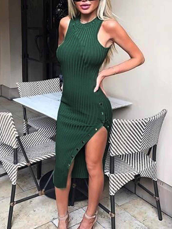 Move Your Body Olive Green Ribbed Bodycon Midi Dress Ribbed Bodycon Midi Dress Midi Dress Bodycon Olive Green Midi Dress [ 1500 x 1000 Pixel ]