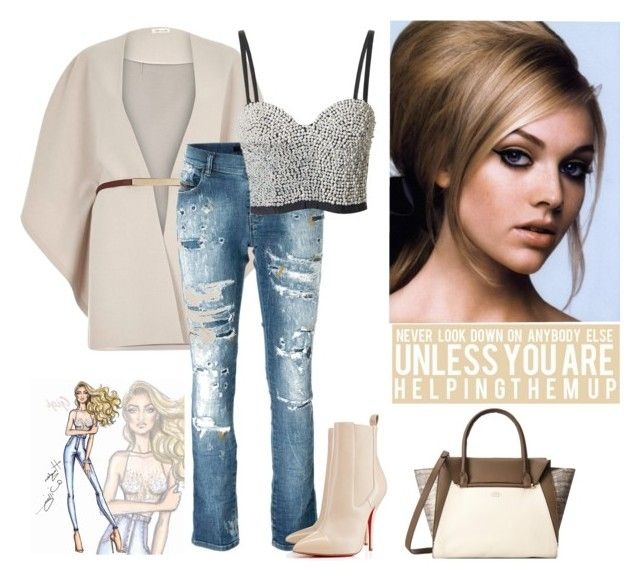 """""""Never look down on anybody else unless you are helping them up"""" by curlysuebabydoll ❤ liked on Polyvore featuring River Island, Diesel, Topshop and Vince Camuto"""