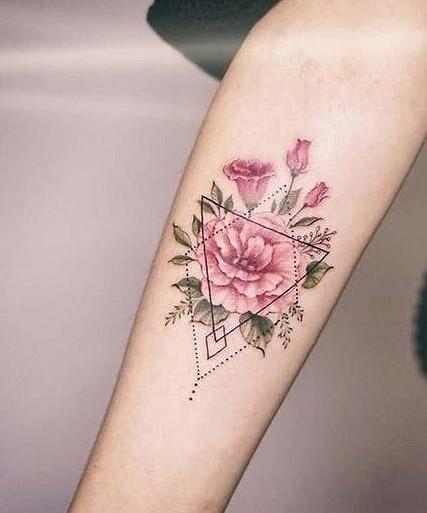 37 Lovely Flower Tattoo Suitable For Women tattoos, flower tattoos,  tattoo ideas,tattoo for women
