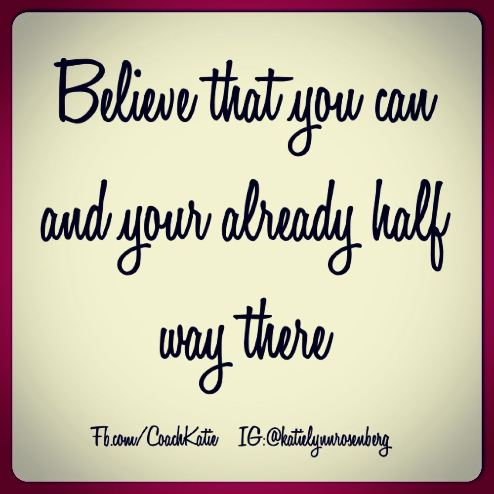 Short Motivational Quotes For Students: Believe In Yourself! If You Believe You Can Do It You CAN