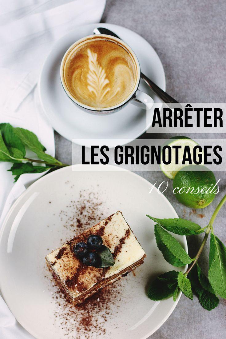ARRÊTER LE GRIGNOTAGE : 10 VRAIS CONSEILS | BLOGGING