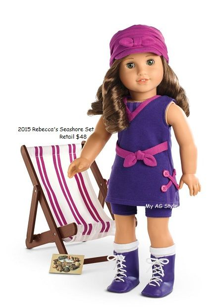 NIB American Girl Travel in Style Dress Outfit with Headband Shoes Belt NEW!