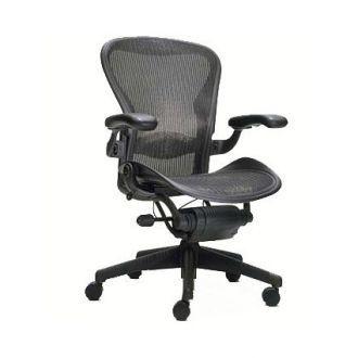 Second Hand Herman Miller Aeron Chair Graphite Mesh Size C