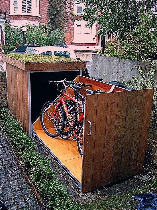 Wie man einen Fahrrad-Lagerschuppen baut - Haus Dekorationen