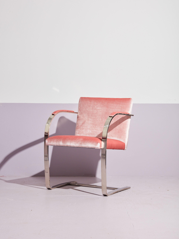 BRNO Flat Bar Chair in Pink  Bar chairs, Small swivel chair