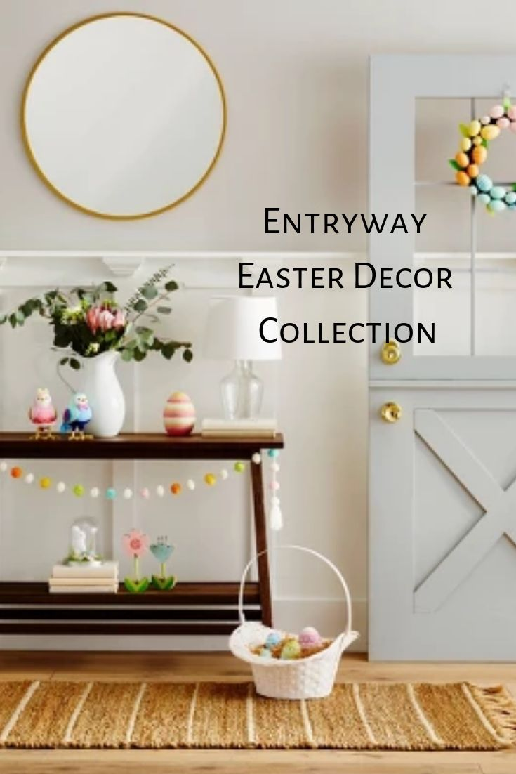 Brighten up your entryway space with these Easter decor ...