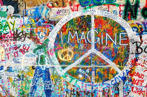 The Lennon Wall in Prague has been destroyed yesterdaynight.