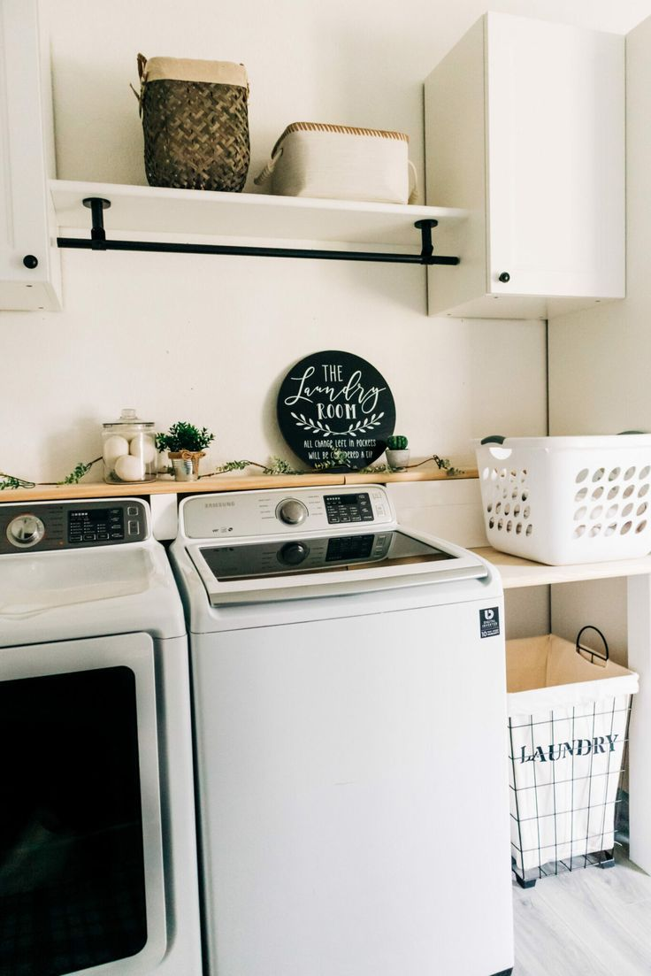 Before + After Laundry Room Makeover | CRAZY LIFE WITH LITTLES - DIY & Home Decor