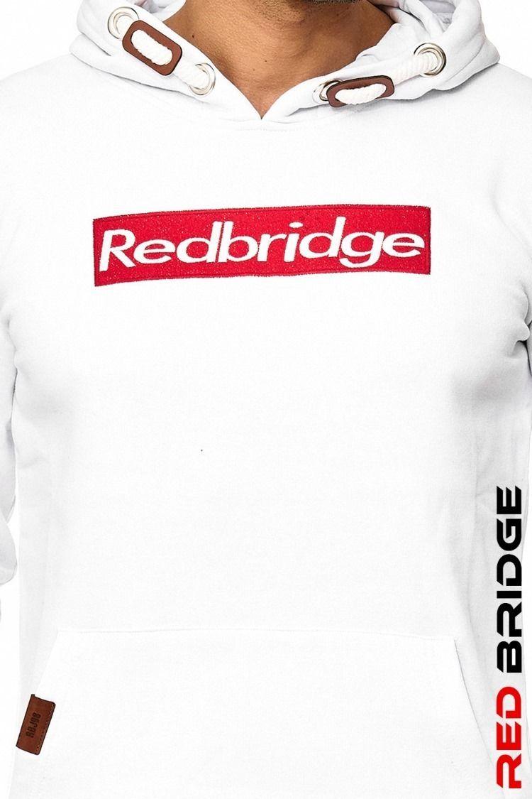 Red Bridge Herren Sweatshirt Kapuzenpullover Hoodie mit