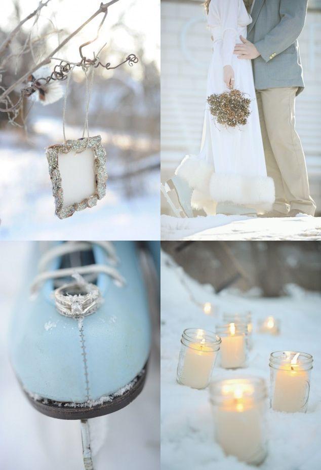 Winter Wedding My Happy Ever After Day Hochzeit Bilder