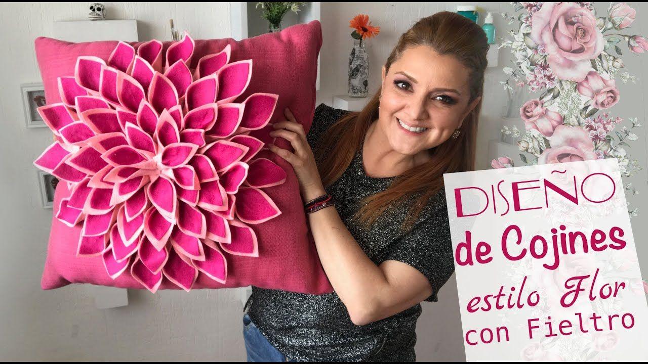 DIY COJIN DECORATIVO CON EFECTO 3D! 3D EFFECT PILLOW DIY