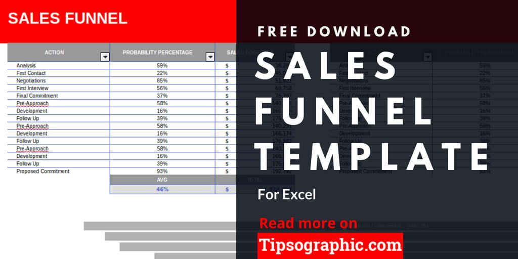 Sales Funnel Template For Excel Free Download