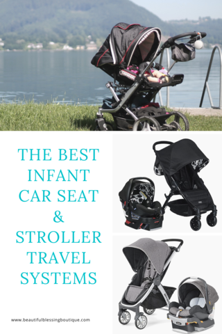 Best Infant Car Seats & Strollers Travel Systems in 2020