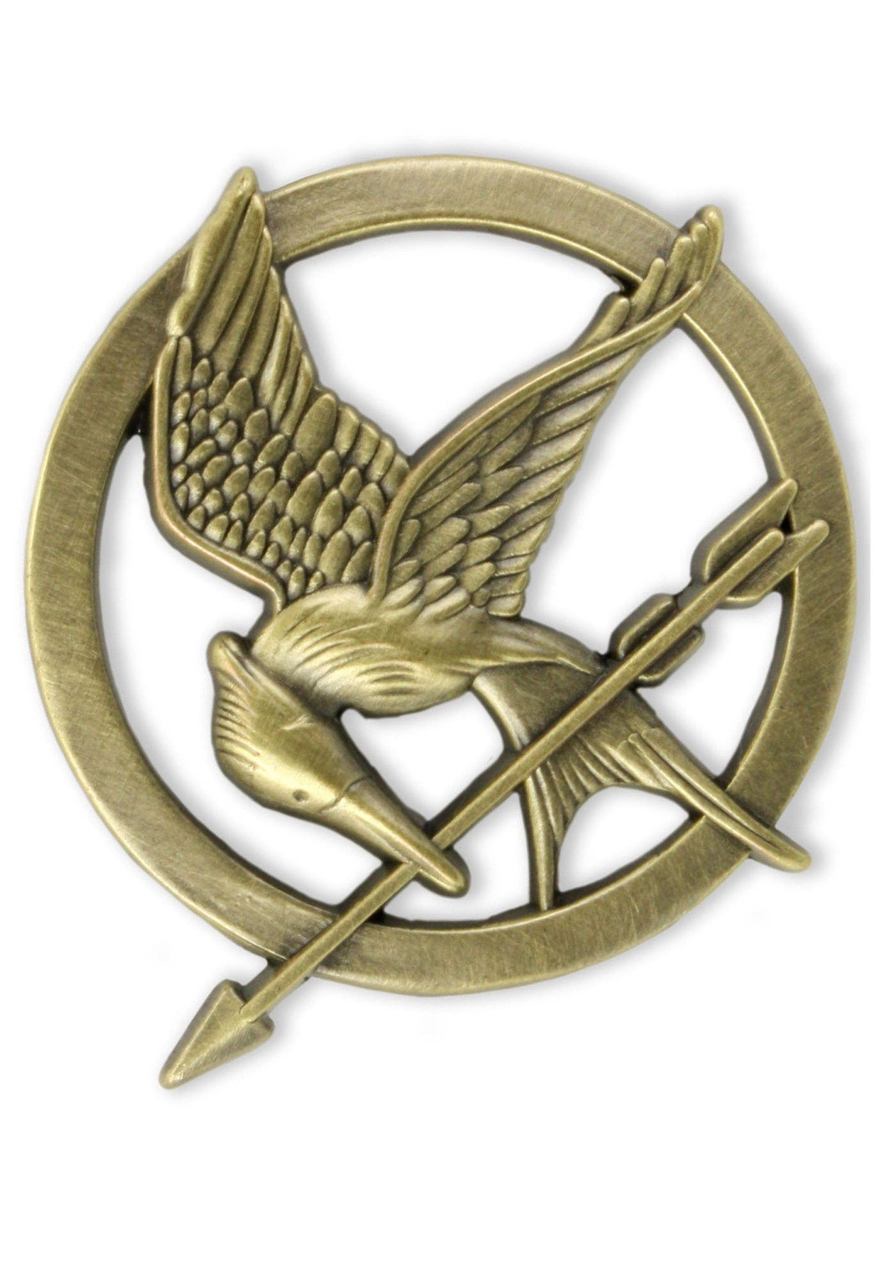 The hunger games Mockingjay part 1 RARE high quality pin ...
