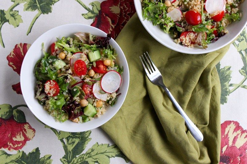 Chickpea and Quinoa Salad (low FODMAP, gluten-free, dairy-free) – A Less Irritable Life