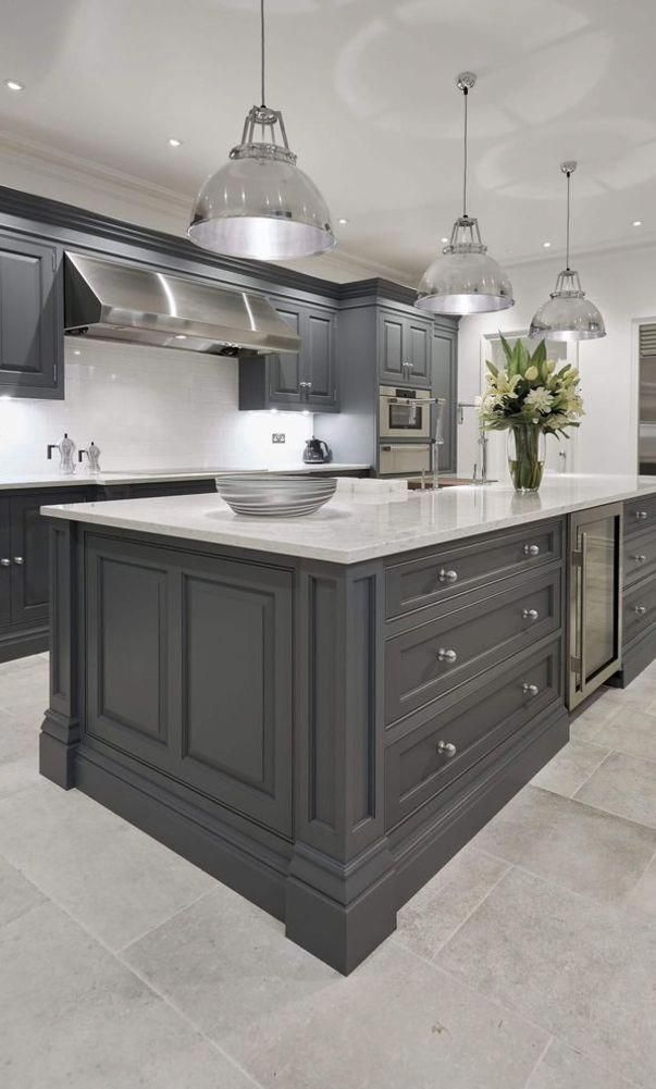 61 New Trend Colorful Kitchen Decorating Ideas For 2020 Part 21 Kitchen Cabinets Kitchen Grey Kitchen Designs Elegant Kitchen Design Kitchen Cabinet Design