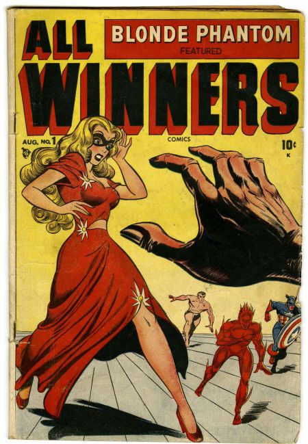 Al Avison | All Winners Comics #1 | Timely | 1948