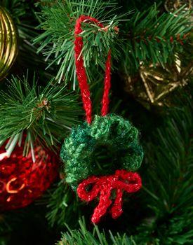 Photo of free Christmas wreath crochet patterns Archives ⋆ Crochet Kingdom