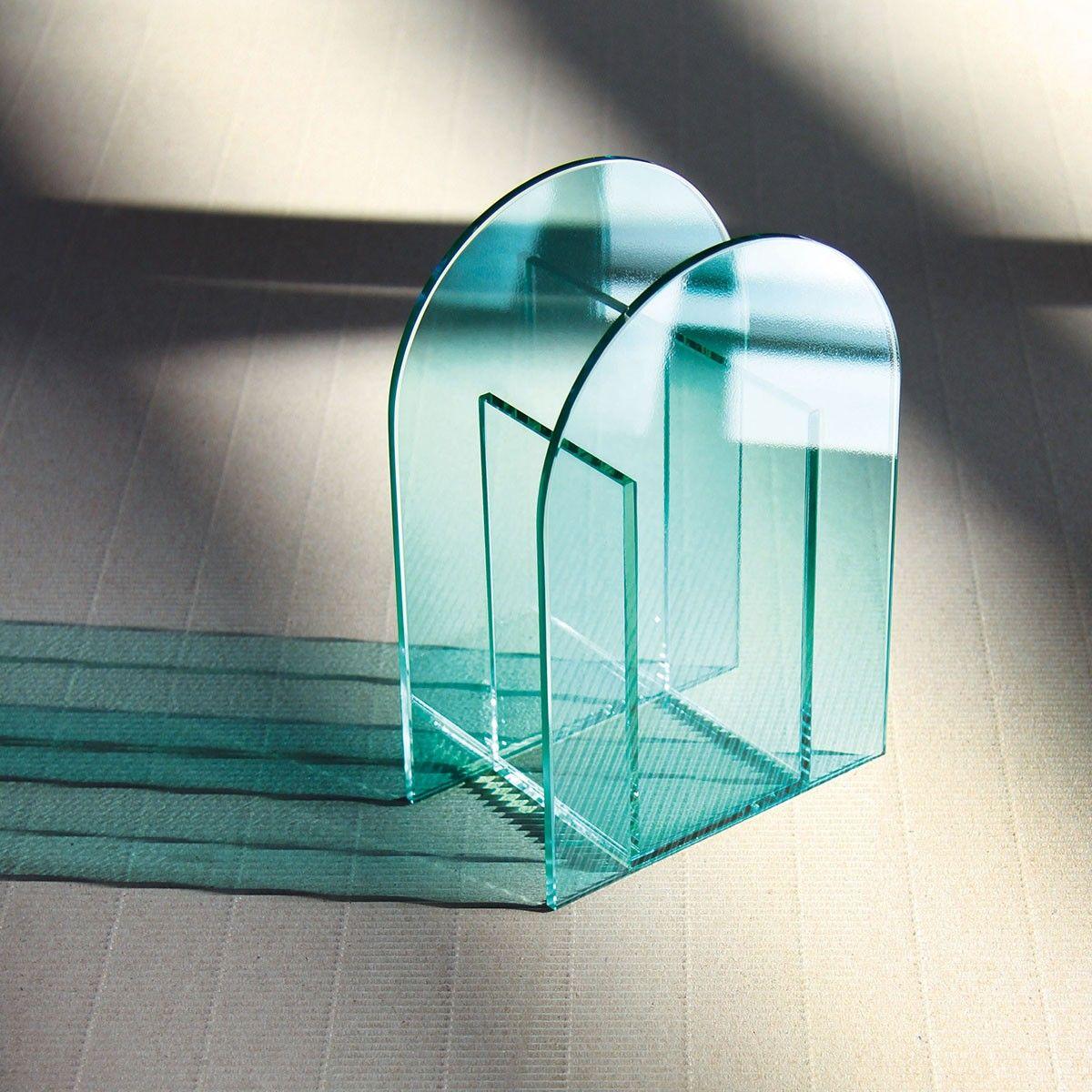 Vase Arch Vert Clair Klevering Vase Verre Art Déco D