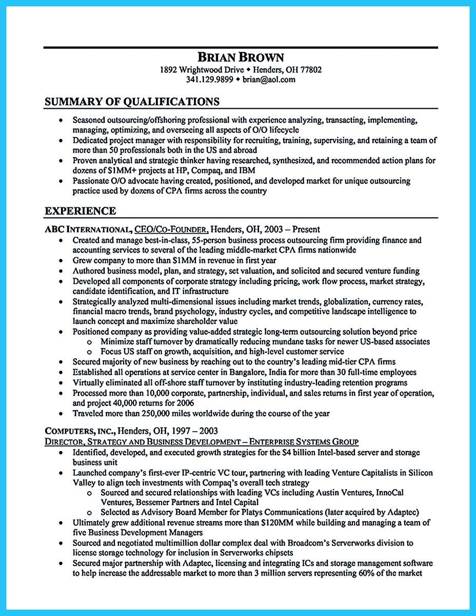 nice Create Your Astonishing Business Analyst Resume and Gain the ...