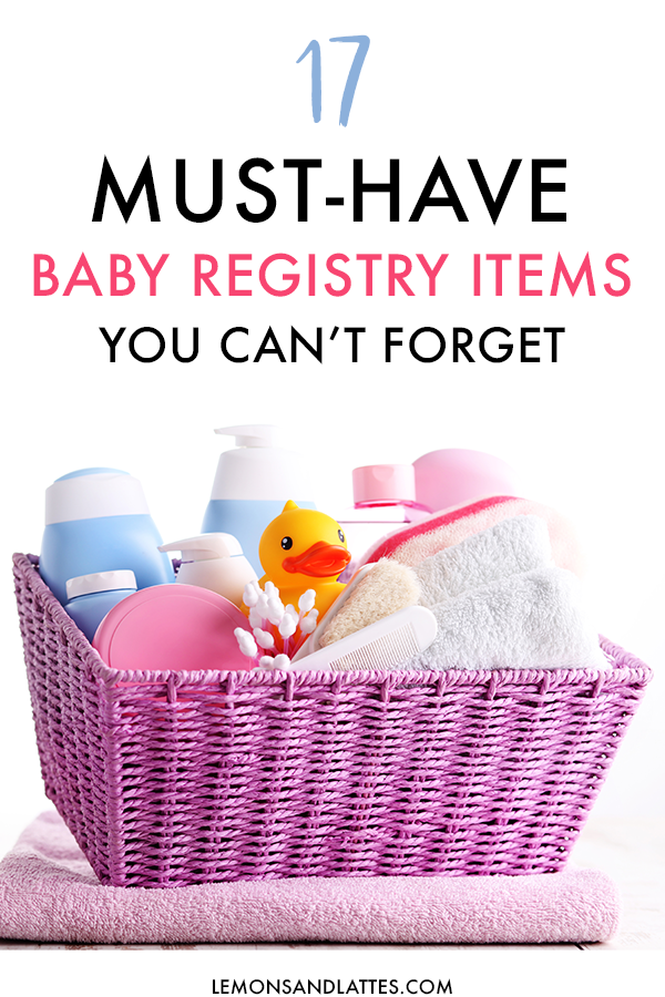 21 Baby Registry Must-Haves You'll Actually Use