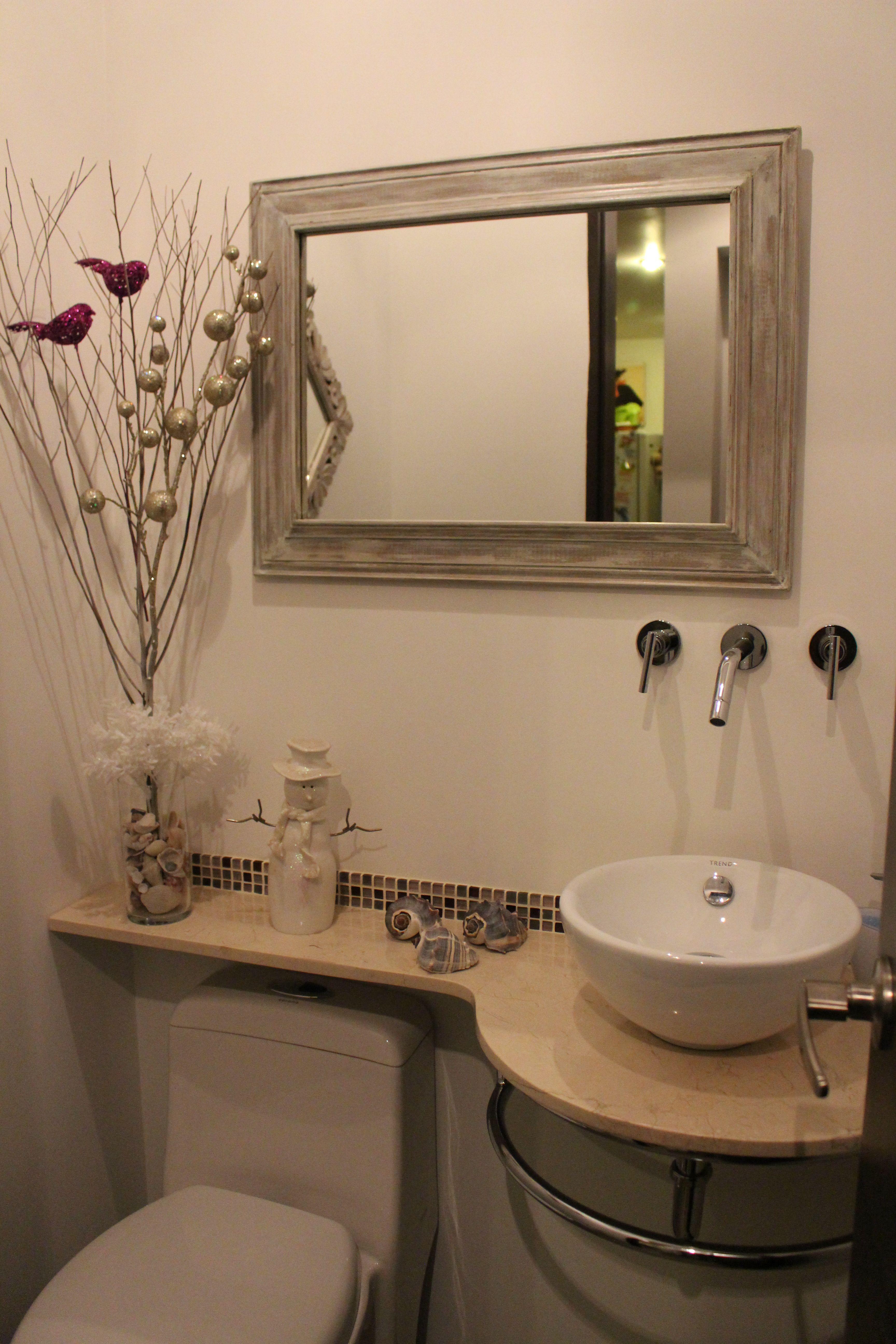 un baño social en solo 1,27mt2! | baños, ese pequeño spa en casa