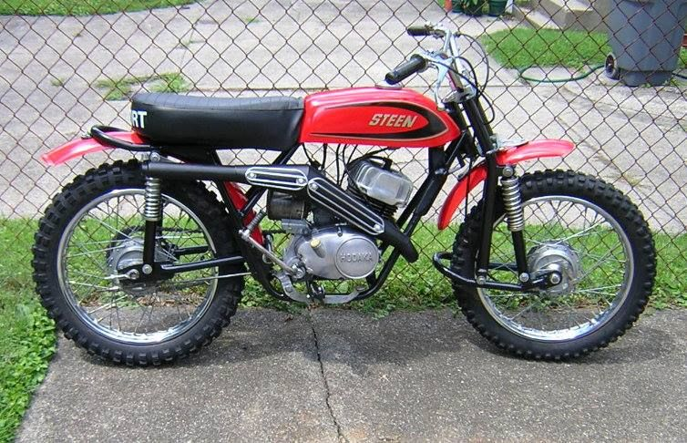1971 steen 100cc vintage dirt pinterest dirt biking for 100cc yamaha dirt bike