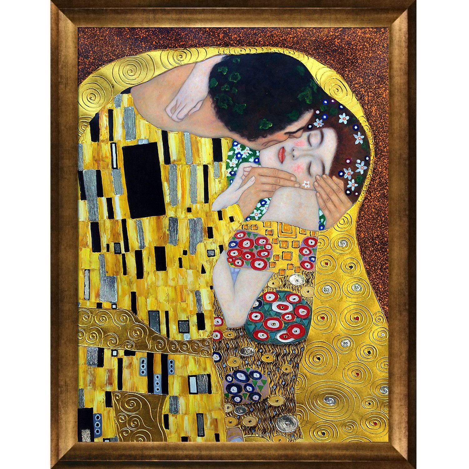 The Kiss\' by Klimt Framed Painting   Products   Pinterest   Klimt