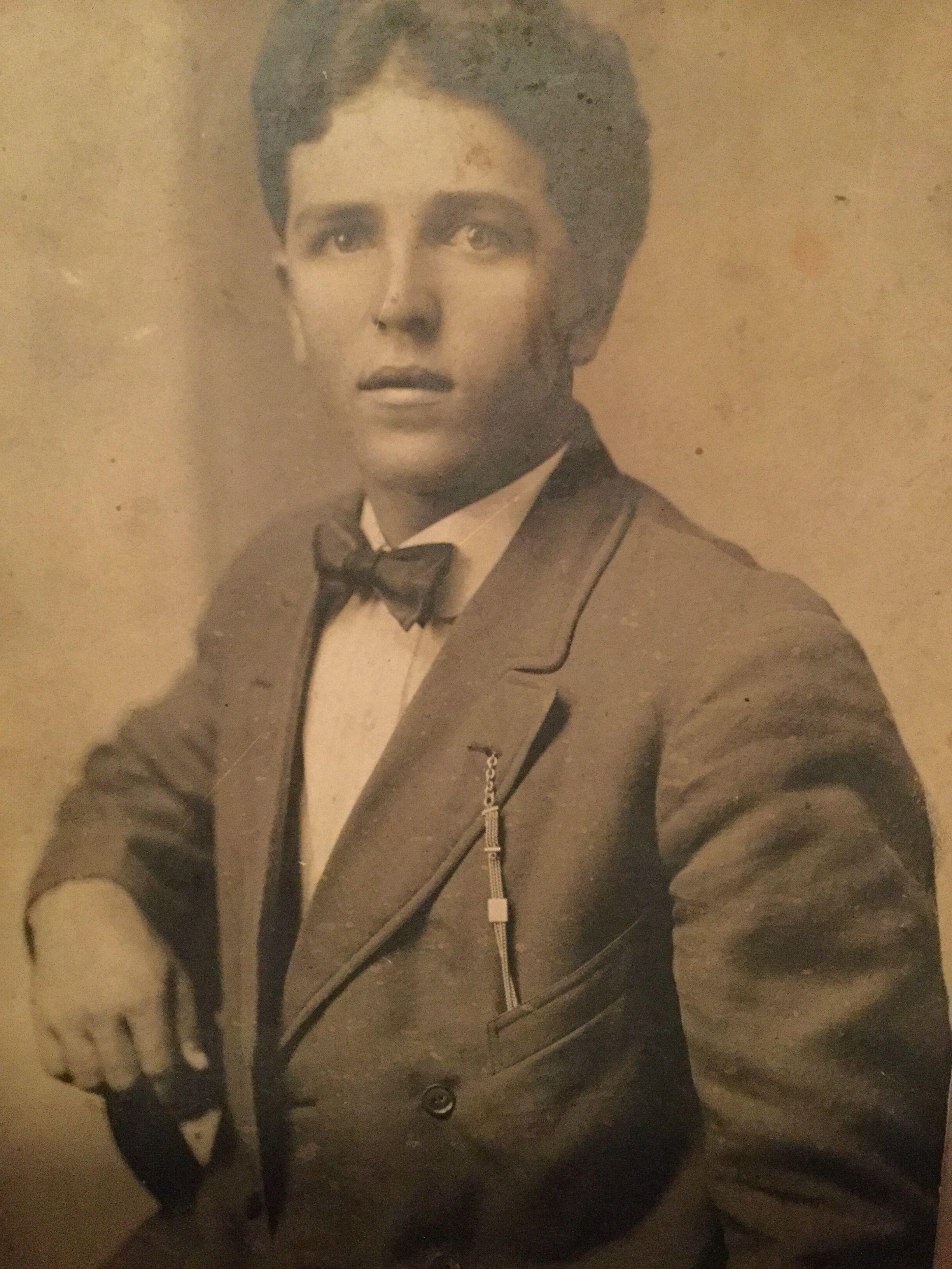 Green Lee Cash (18921924) Picture was taken around 1917