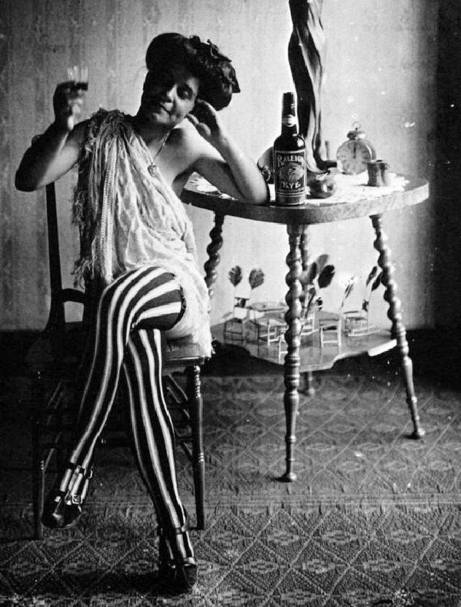 Retratos de prostitutas de principios del siglo XX, el lado oscuro de New Orleans