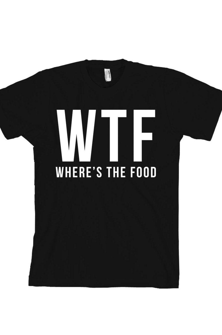 Foodie T Shirt Camisas