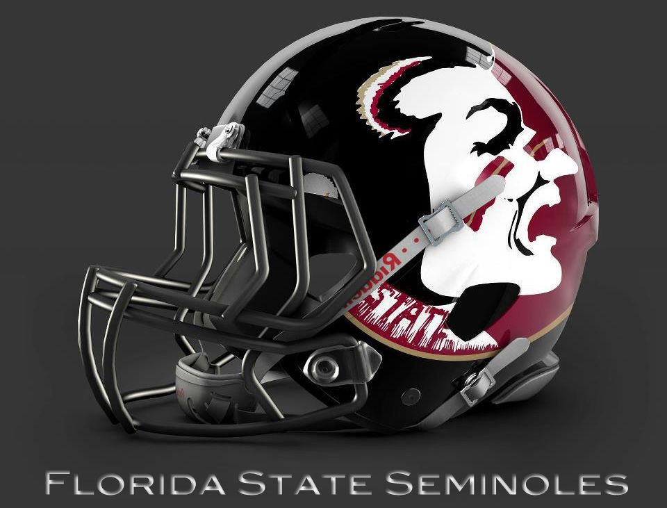 Florida State Seminoles Helmet Design Florida State Seminoles Football Florida State Football Fsu Football