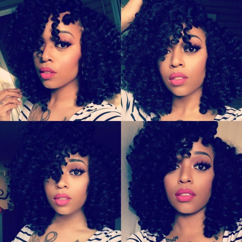 Jamaican Bob Hairstyle: Crochet Hairstyle Using Jamaican Bounce Hair Again