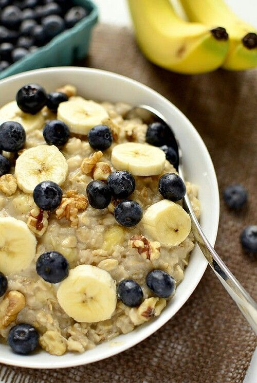 Oatmeal- best way to eat it! U can get ur fruits in for the day!