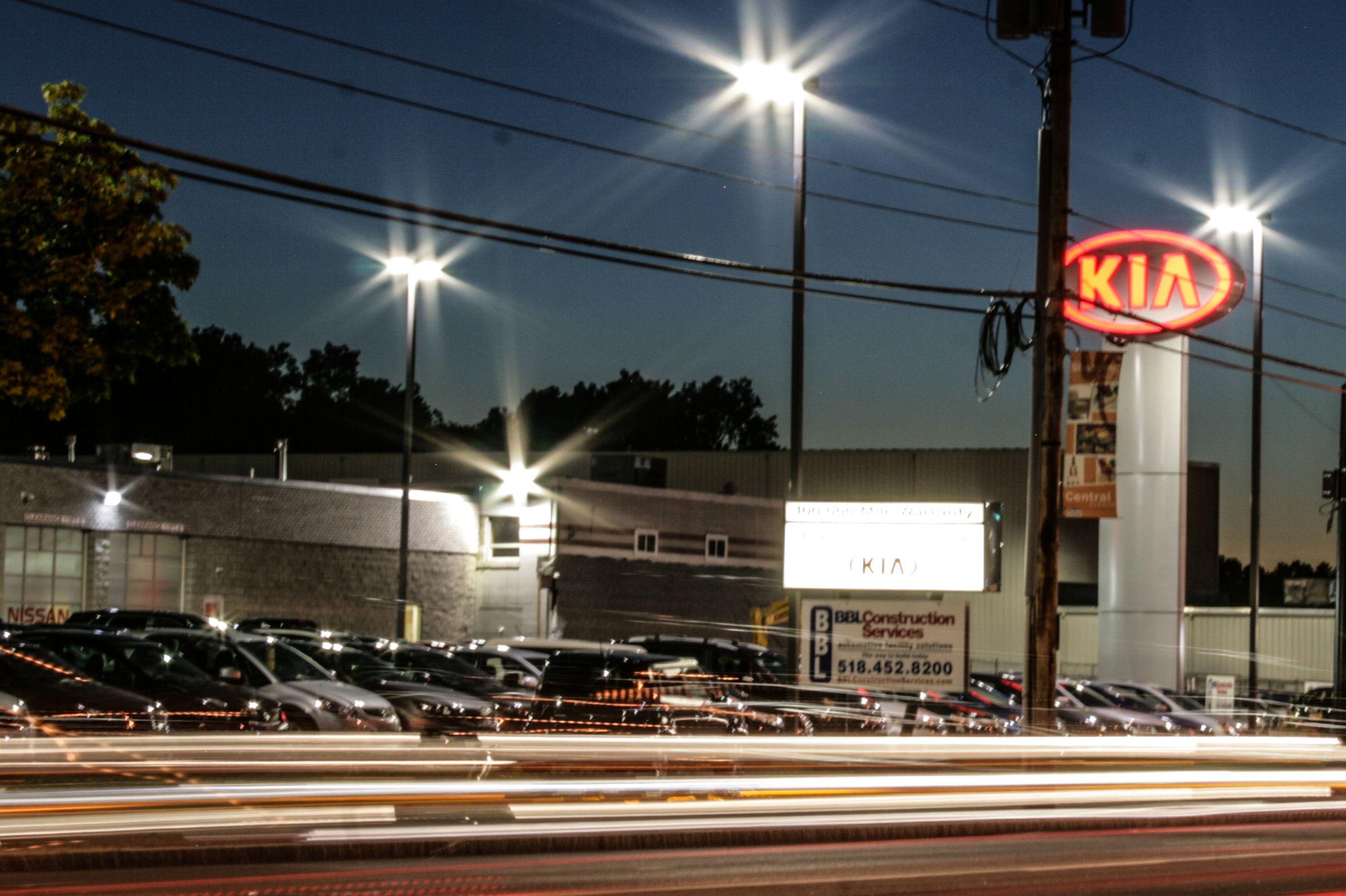 Pin By Destination Kia On Kia Forte Night Lights Clifton Park Kia Clifton