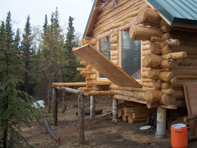 Alaska Log Cabins | ... The Cabin Knowing It Is Sealed Tight And More