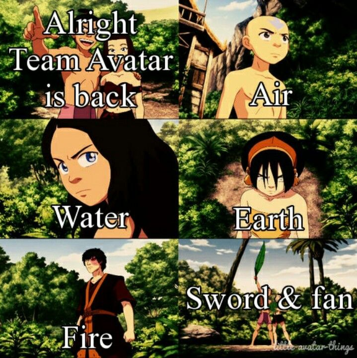 Katara. You're awesome the way you are. No need for the