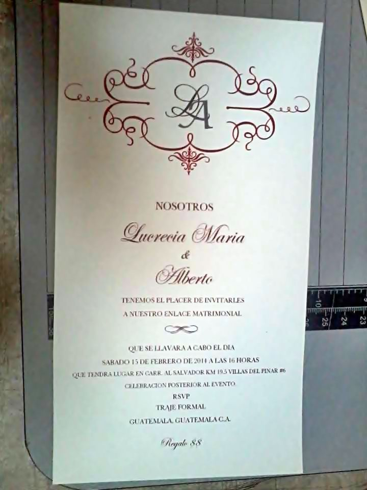 diy wedding invitationscame out great printed at office max and printed on - Officemax Wedding Invitations