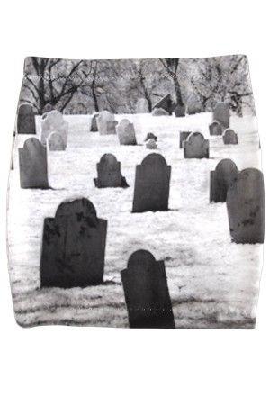 Women's Graveyard Mini Skirt