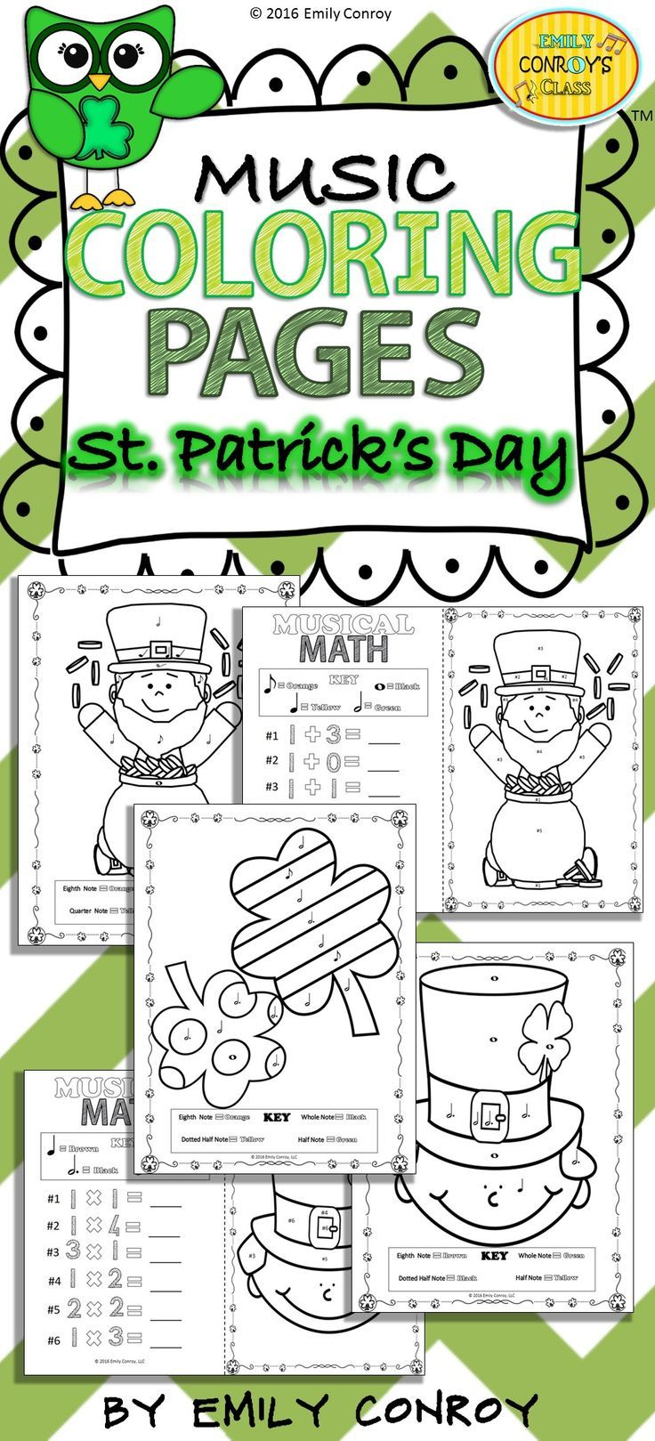 Excepcional Hola Gatito Páginas Para Colorear St Patricks Day ...