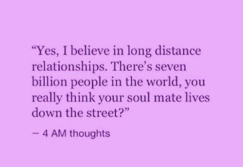 Food For Thought On Long Distance Relationships Amen Quotes