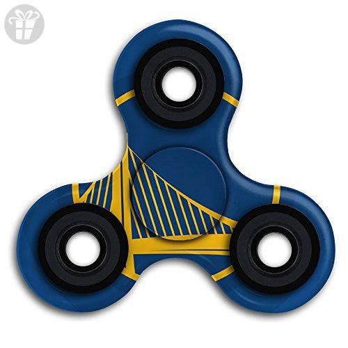 Golden-State-Warriors-Logo EDC Tri Fidget Spinner Hand Spinner Finger Spinner Finger Toy Relieve Stress High Speed Focus Toy For Adult And Children - Fidget spinner (*Amazon Partner-Link)