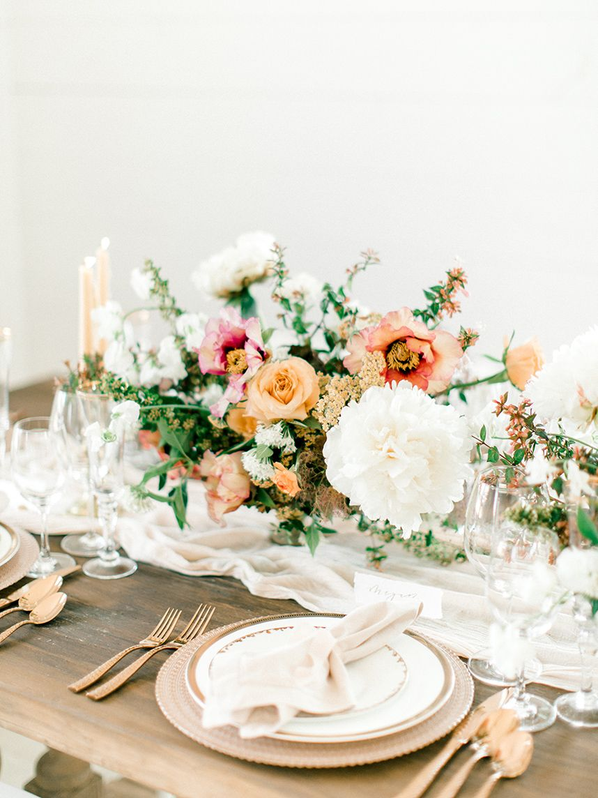 Charming Rustic Wedding Inspiration by Chic Fleur Weddings and ...