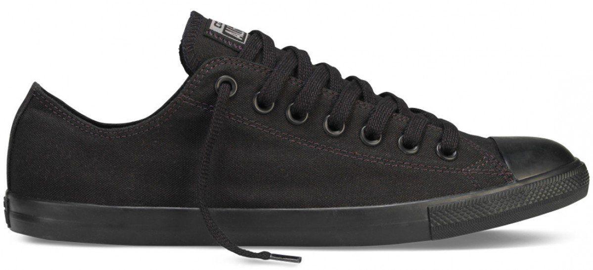 31382e6d67e7 Converse Chuck Taylor All Star Low Lean Canvas Black  Black ...