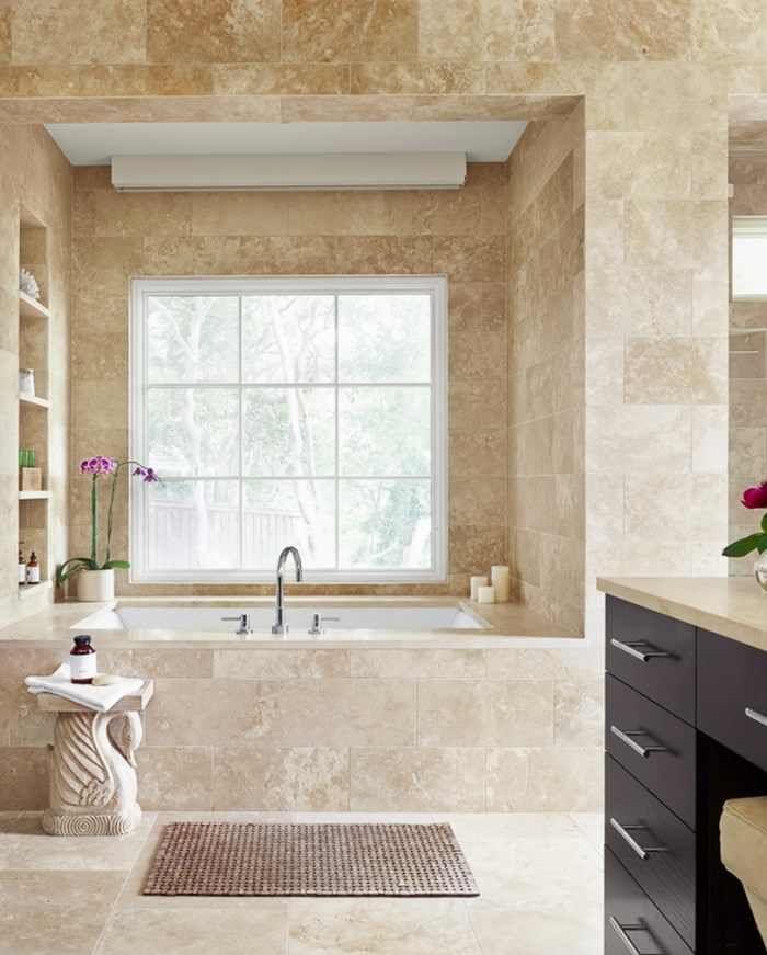 travertine bathroom … | Pinteres…