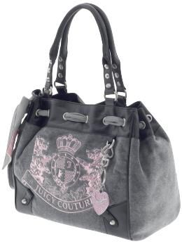 Outlet Uk Juicy Couture Bag I Have This One In Grey Brown Purse