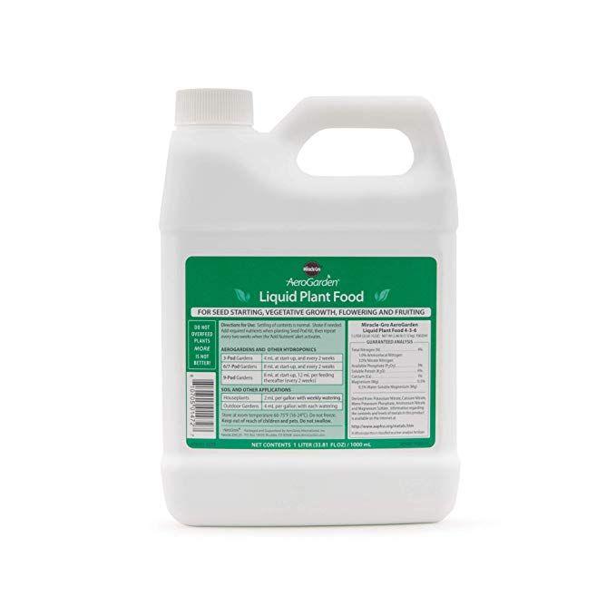 Aerogarden Liquid Nutrients 1 Liter Fertilizer 640 x 480